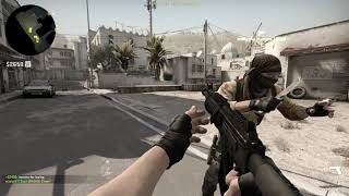 Counter Strike: Global Offensive Gameplay Episode 6: Online with random people on de_dust2