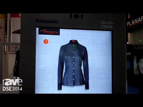 DSE 2014: Panasonic Showcases Joint Venture Kiosk With Cisco For Digital Signage