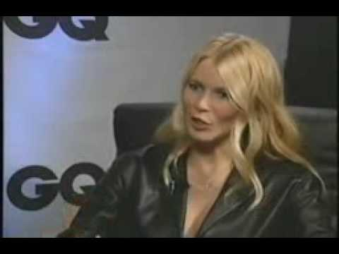 Claudia Schiffer at the GQ Men of the Year Awards with Diane Ele Video