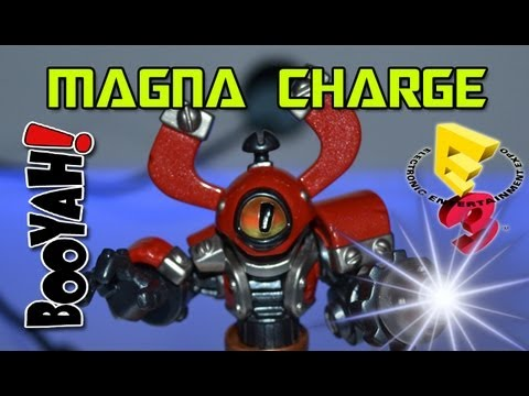 I Get To Play Early!!!: Skylanders Swap Force - Magna Charge @ E3 2013 - E3M13