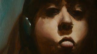 Dorotea - Oil painting timelapse