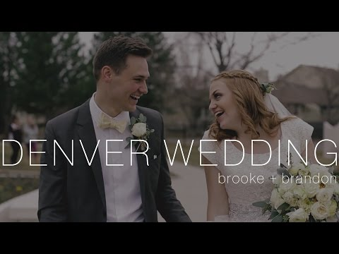 Denver Colorado Wedding Video at Denver LDS Temple + Hudson Gardens