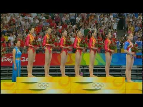 2008 Olympic Games - Team Final - Medal Ceremony
