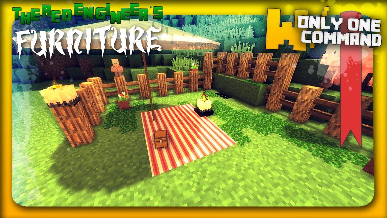 Minecraft Outside Furniture Minecraft Garden Furniture