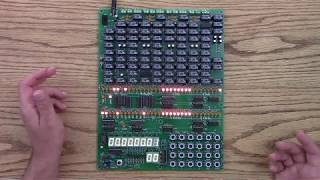Single Board Relay Computer