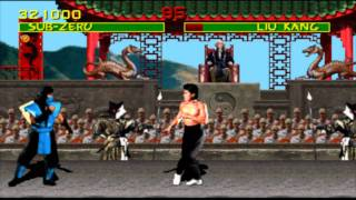 Mortal Kombat Arcade Kollection PC ( 2012 ) GTX 580 : MK 1 Gameplay Sub Zero