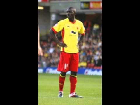 Watford's Prince Buaben on first goal against Cardiff