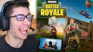 FORTNITE BATTLE ROYALE PARA CELULAR? JOGO MAIS JOGADO DO MUNDO!