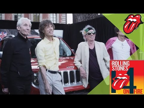 The Rolling Stones - Jeep signed by the band auctioned for charity