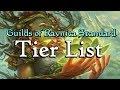 Mtg: The Guilds Of Ravnica Standard Deck Tier List!
