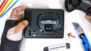 NEW Sega Genesis MINI Teardown! - The Best Classic Console??
