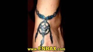 Tattoos for Girls on Foot, Feminine Feet Tattoo Designs
