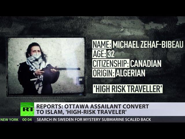 Ottawa gunman 'identified' as Muslim convert, high-risk traveler