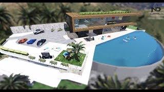 GTA 5 - Đi tham quan biệt thự tiền tỉ gần biển | ND Gaming