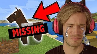 I LOST my horse in Minecraft (REAL TEARS) - Part 4