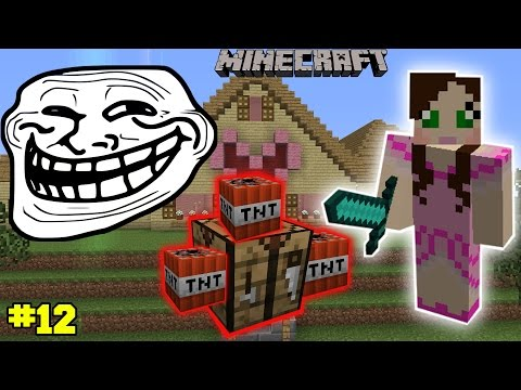 Minecraft: TROLLING ITEMS CHALLENGE EPS7 12