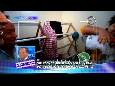 'Ice Bucket Challenges': Melcochita nominó a Nadine Heredia y Karen Schwarz