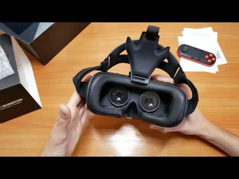 VR ОЧКИ SHINECON SH SC1 51    Распаковка и Обзор очков виртуальной реальности!