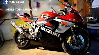 SUZUKI GSXR 600 K5 short exhaust yoshimura rs3