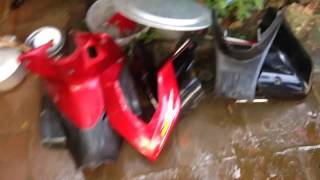 Tháo vỏ xe trước xe wave | Hanoiwave unpleasant | rảnh