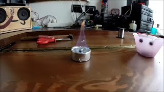 MICRO FORNELLO AD ALCOOL FAI DA TE #DOROFRED# -GoPro- How to make a mini alcool stove