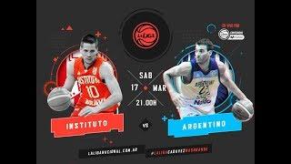 Liga Nacional: Instituto vs. Argentino | #LaLigaEnTyCSports