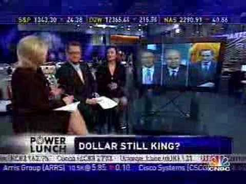 US Economy Drags Dollar Down V Euro - CAP's Weller on CNBC