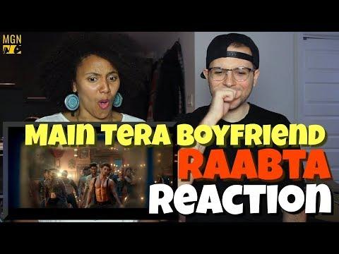 Main Tera Boyfriend - Raabta | Arijit S | Neha K Meet Bros | REACTION