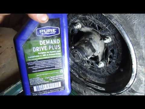 How to Drain and Replace Hub Oil on a Polaris Sportsman 4x4 ATV