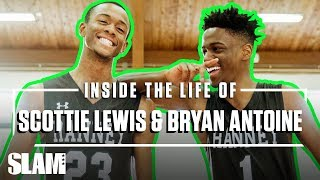 Scottie Lewis & Bryan Antoine CAN'T STOP LAUGHING AT EACH OTHER 😂 | SLAM Day in the Life