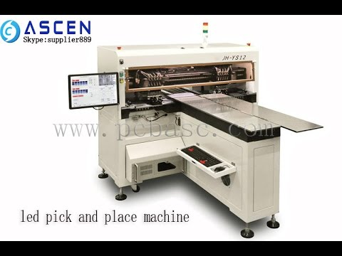 Ascen  High Speed Led Smd Machine Led Aluminium Board Pick And Place Machine Free Porn Girl Online video