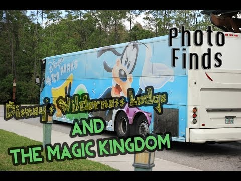 Photo Finds: Disney's Wilderness Lodge and Magic Kingdom - April 14, 2014