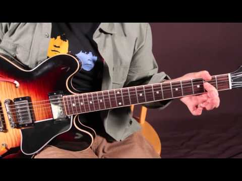 Beatles Guitar Lessons - Dig A Pony - How To Play On Guitar - Riff And Chords