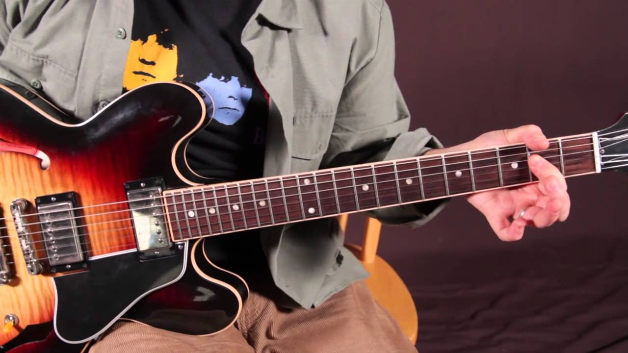 Beatles Guitar Lessons - Dig a Pony - How to Play on Guitar - Riff and Chords - YouTube