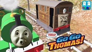 Percy Shocked Toby win the Race - Thomas & Friends: Go Go Thomas!