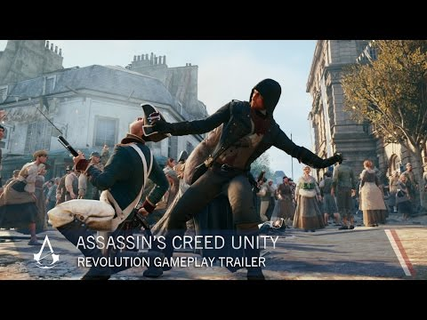 Assassin's Creed Unity Revolution Gameplay Trailer [US]