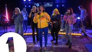 Download video Dua Lipa - IDGAF ft. Charli XCX, Zara Larsson, MØ, Alma, in the Live Lounge