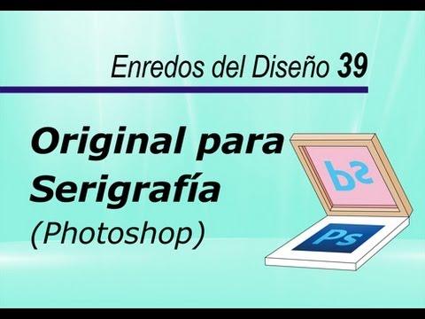 Original para Serigrafía - Photoshop - Amg