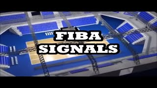 FIBA SIGNALS - BASKETBALL REFEREE EDUCATION