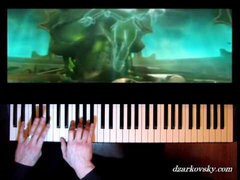 Эпидемия - Чёрный маг - кавер (пианино)
