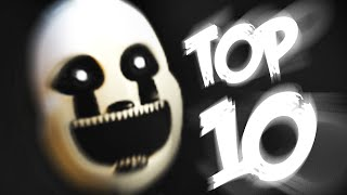 Top 10 Animatronics - Five Nights at Freddy
