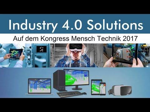 Industrie 4.0 Solutions von CAD Schroer auf dem Kongress Mensch Technik Dortmund 2017
