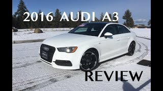 2016 Audi A3 Quattro Review (2015-2018)
