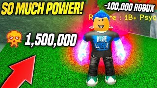 SPENDING 1.5 MILLION TOKENS TO BECOME INSANELY POWERFUL IN SUPER POWER TRAINING SIMULATOR!! (Roblox)