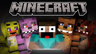 If Steve plays Five Nights at Freddy's 4 - 3D Minecraft Animation