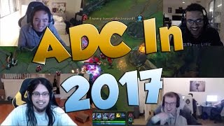 League of Legends Funny Stream Moments #26 - ADC IN 2017!