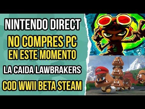 Noticias de video juegos 35 - Nintendo direct, fornite battle royale, Intel coffe lake