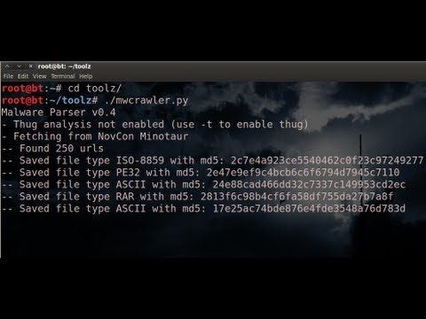 TekTip ep16 - Collect Malware with MWCrawler