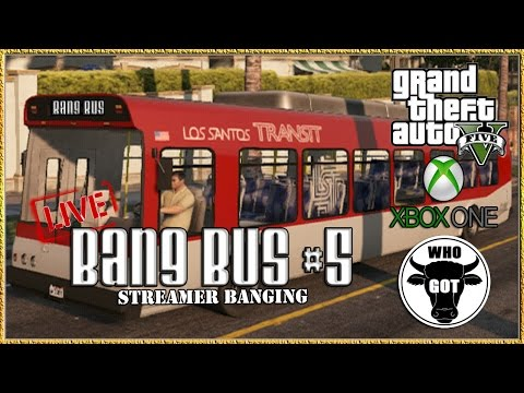 Gta 5 Online Xbox One gta V Bang Bus #5 Streamer Banging Gtav Next Gen Gameplay Xbox One Live video