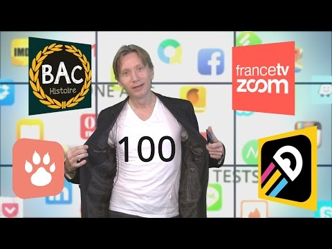 Phone Apps #100 : France TV Zoom, eduQuest Bac Histoire, Tindog, One More Line